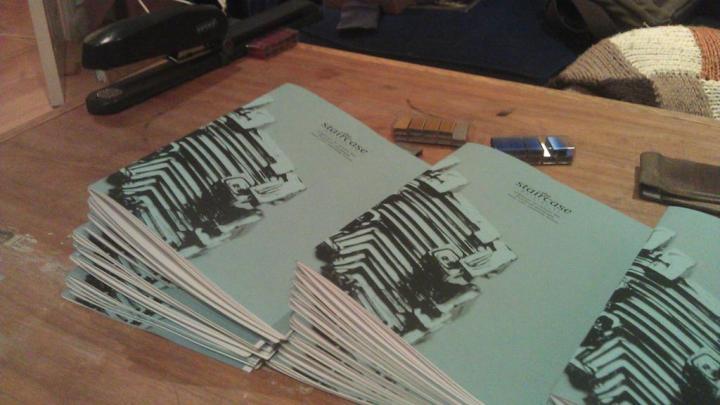 #12 print, fold + staple